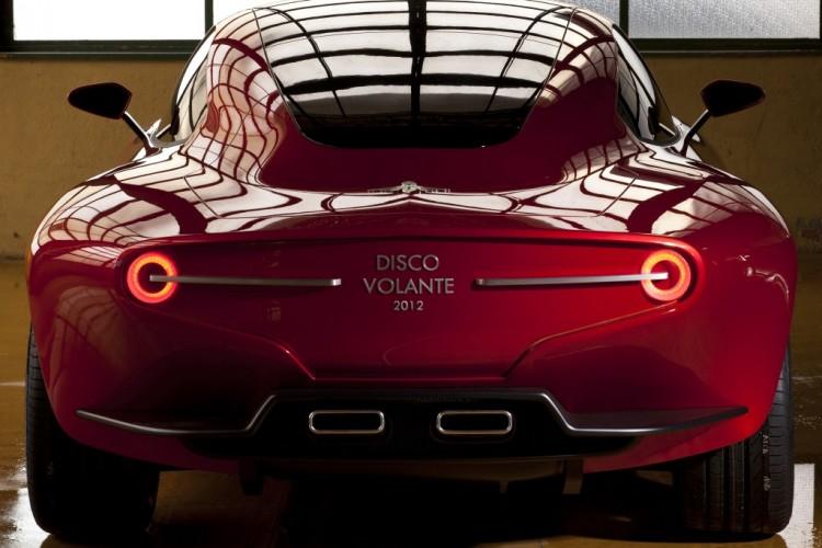 Alfa Romeo: Touring Disco Volante